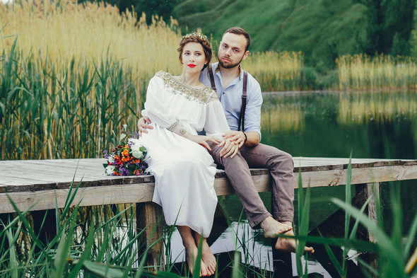 Свадебная прогулка Вити и Оли - фото №21