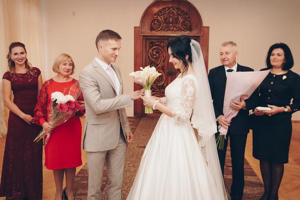 Свадебный день Сергея и Юлии - фото №12