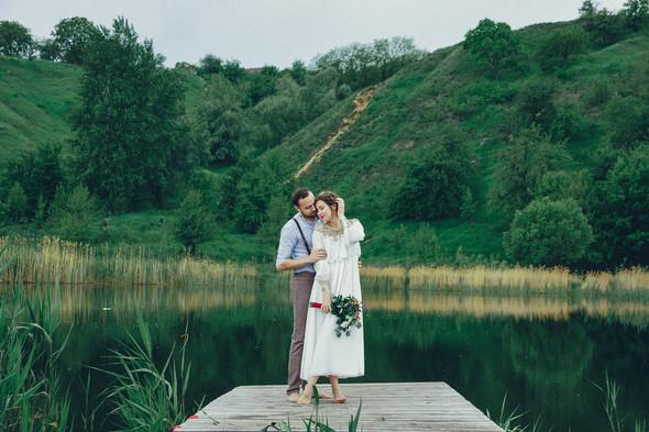 Свадебная прогулка Вити и Оли - фото №33