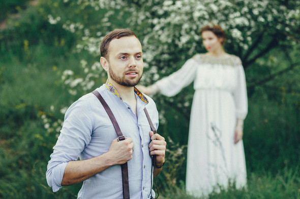Свадебная прогулка Вити и Оли - фото №9