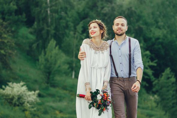 Свадебная прогулка Вити и Оли - фото №13