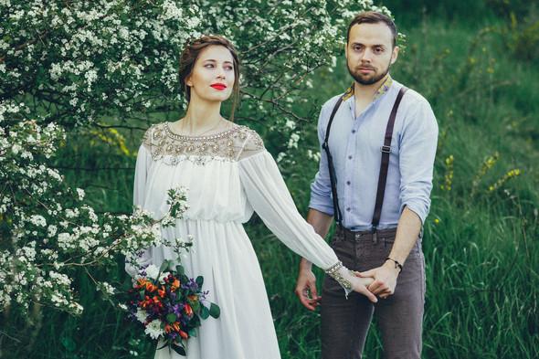 Свадебная прогулка Вити и Оли - фото №3