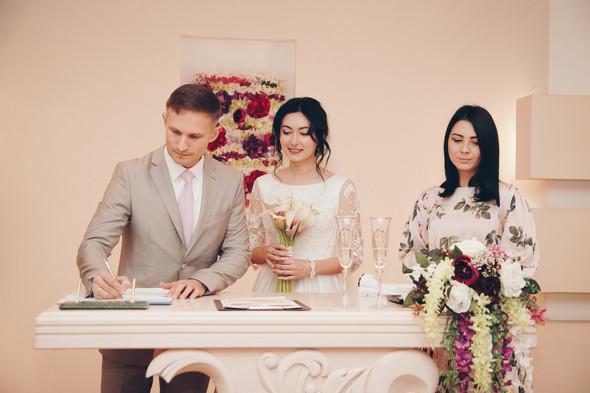 Свадебный день Сергея и Юлии - фото №13