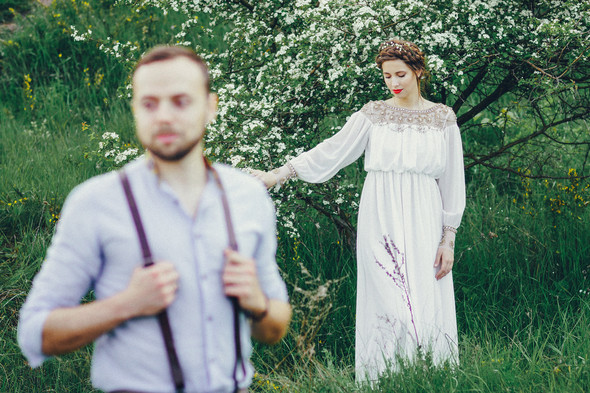 Свадебная прогулка Вити и Оли - фото №10