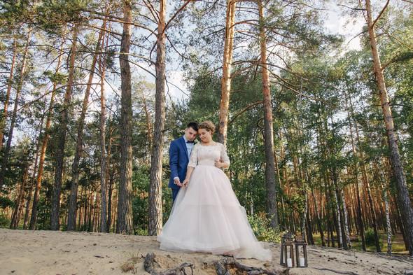 Романтическая сказка Дмитрия и Александры - фото №37