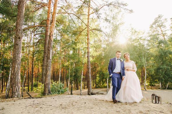 Романтическая сказка Дмитрия и Александры - фото №45