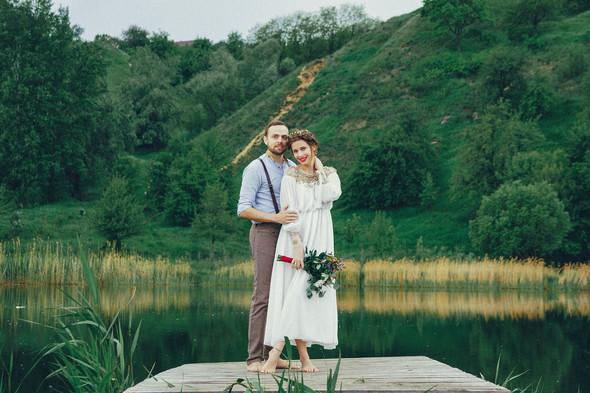 Свадебная прогулка Вити и Оли - фото №34