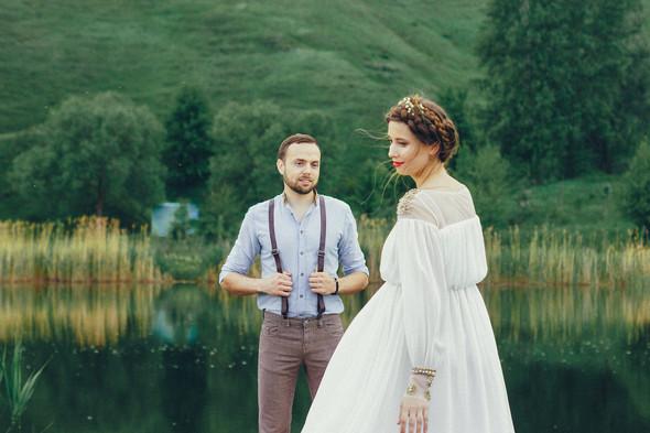 Свадебная прогулка Вити и Оли - фото №19