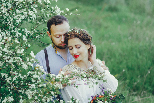 Свадебная прогулка Вити и Оли - фото №7