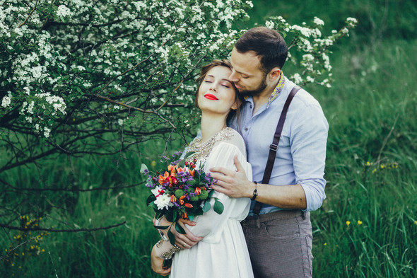 Свадебная прогулка Вити и Оли - фото №2