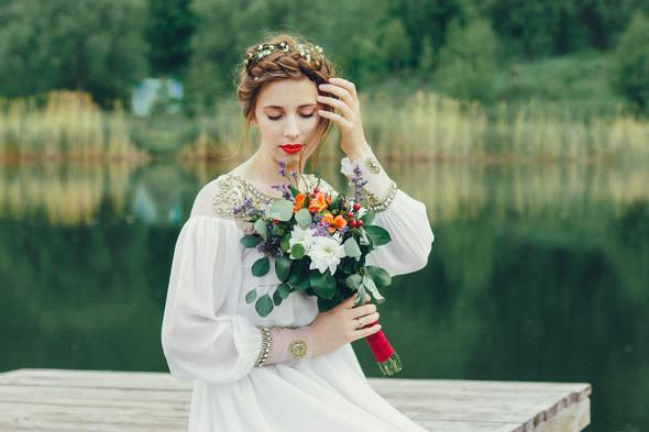 Свадебная прогулка Вити и Оли - фото №27