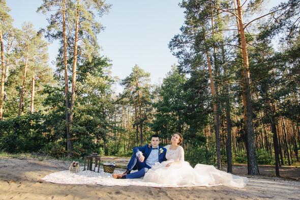 Романтическая сказка Дмитрия и Александры - фото №24