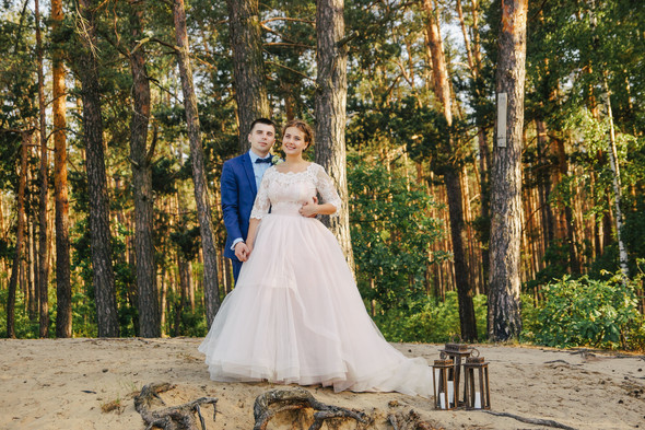 Романтическая сказка Дмитрия и Александры - фото №36