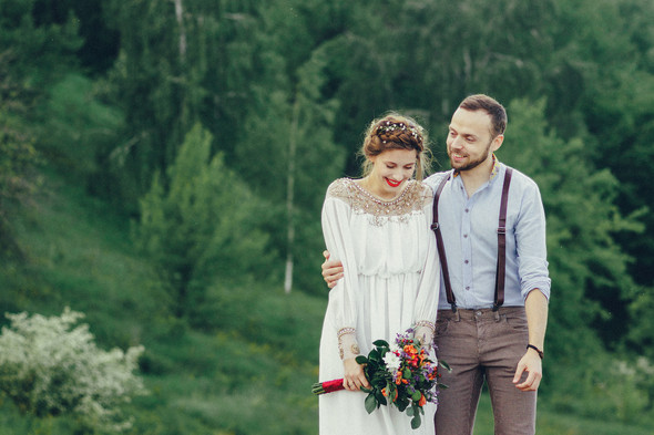 Свадебная прогулка Вити и Оли - фото №11