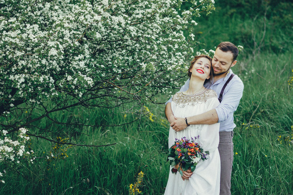 Свадебная прогулка Вити и Оли - фото №4