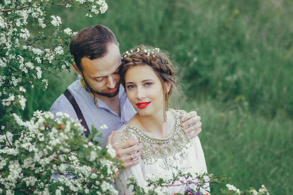 Свадебная прогулка Вити и Оли - фото №5