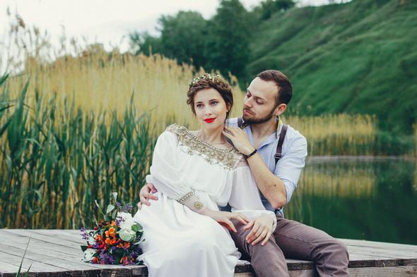 Свадебная прогулка Вити и Оли - фото №22