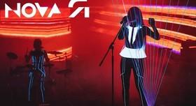 шоу лазерной арфы «novaЯ» / лазер шоу - фото 1