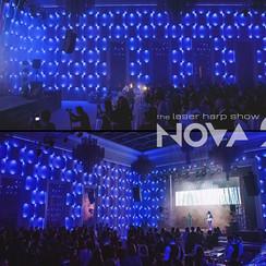 шоу лазерной арфы «novaЯ» / лазер шоу - фото 4