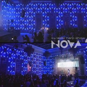 шоу лазерной арфы «novaЯ» / лазер шоу - артист, шоу в Киеве - портфолио 4