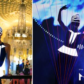шоу лазерной арфы «novaЯ» / лазер шоу - артист, шоу в Киеве - портфолио 3