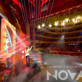 шоу лазерной арфы «novaЯ» / лазер шоу - артист, шоу в Киеве - портфолио 2