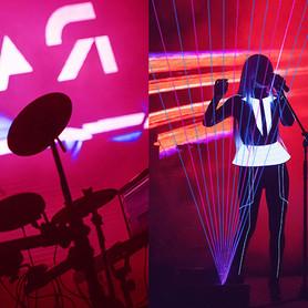 шоу лазерной арфы «novaЯ» / лазер шоу - артист, шоу в Киеве - портфолио 5
