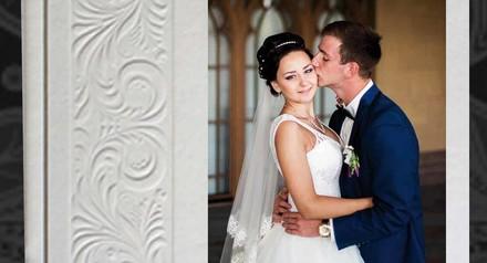Большая свадебная фотокнига Премиум класса в подарок!
