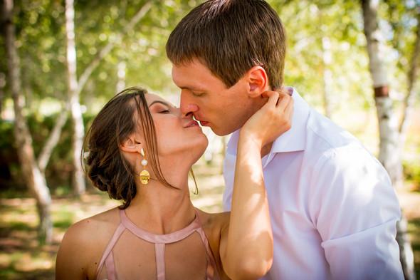 Теплая осенняя свадьба - фото №8