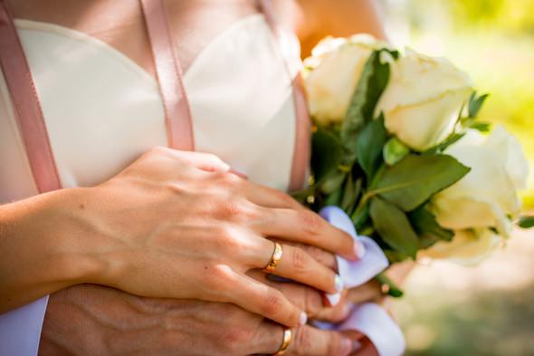 Теплая осенняя свадьба - фото №9