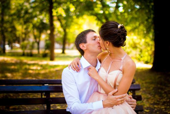 Теплая осенняя свадьба - фото №1