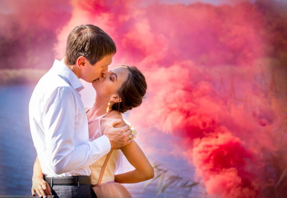 Теплая осенняя свадьба - фото №5