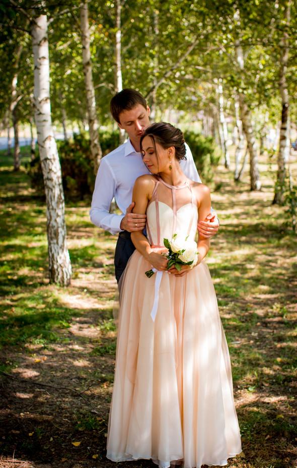Теплая осенняя свадьба - фото №6