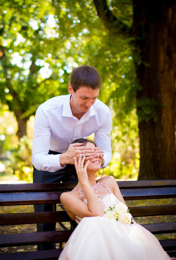 Теплая осенняя свадьба - фото №3