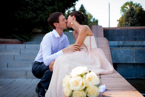 Теплая осенняя свадьба - фото №4