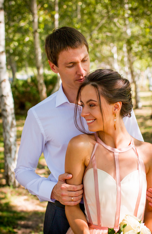Теплая осенняя свадьба - фото №7