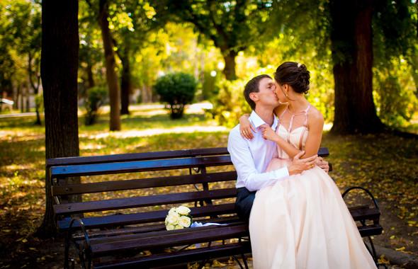 Теплая осенняя свадьба - фото №2