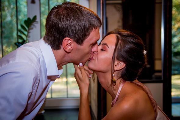 Теплая осенняя свадьба - фото №13