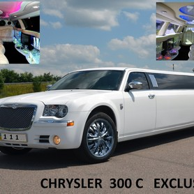 ЛИМУЗИН CHRYSLER С 300 (EXCLUSIVE) - авто на свадьбу в Киеве - портфолио 1