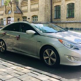 Хюндай Соната Hybrid - авто на свадьбу в Киеве - портфолио 1
