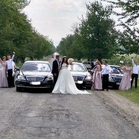 Mercedes W 221 long - авто на свадьбу в Черновцах - портфолио 3