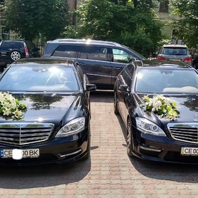 Mercedes W 221 long - авто на свадьбу в Черновцах - портфолио 1