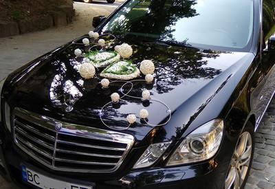 Украшения на свадебные авто - фото 1
