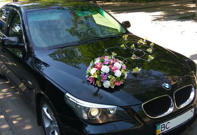 Украшения на свадебные авто - фото 2