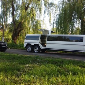 Лимузин Gelandewagen 3 оси 2017 года в Луцьке - авто на свадьбу в Луцке - портфолио 4