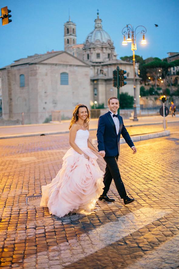 Wedding Italy Rome - фото №29