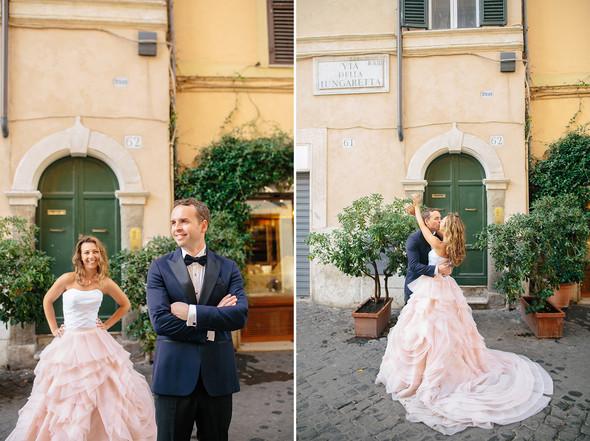Wedding Italy Rome - фото №19