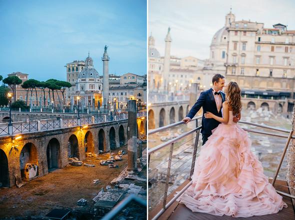 Wedding Italy Rome - фото №27