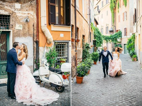 Wedding Italy Rome - фото №11