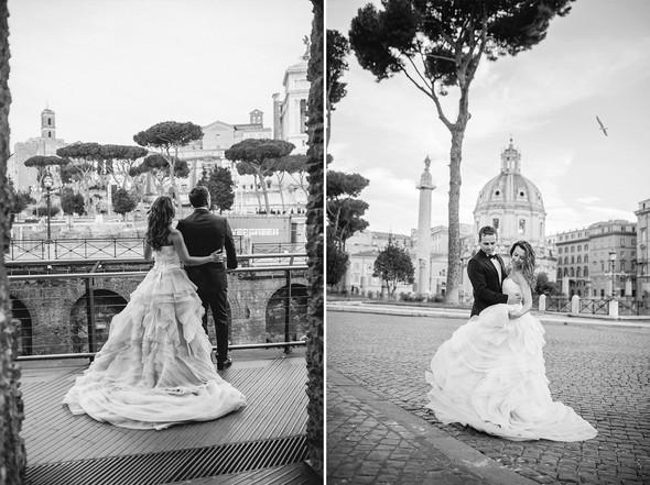 Wedding Italy Rome - фото №28